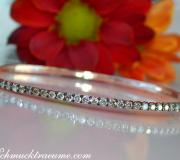 Timeless Bangle with Natural Brown Diamonds image