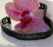 Stately Black Diamond Bracelet image