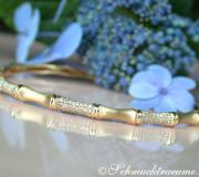 "Handsome Diamond ""Bamboo"" Bangle image"