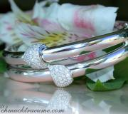 Solid Diamond Bangle image