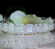 Fabulous Bangle with Brilliant, Princess & Baguette Diamonds image