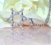 "Terrific ""Star of David"" Diamond Pendant image"