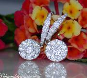 Magnificent Diamond Earrings (Illusion Design) image