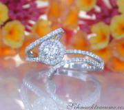Delicate Diamond Solitaire Ring image