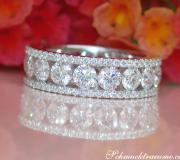 High Carat Diamond Eternity Ring image
