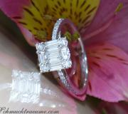 Picture Perfect Diamond Square Ring image
