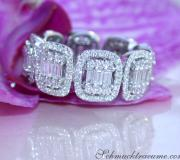 Magnificent Diamond Eternity Band (Square Style) image