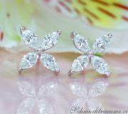 Finest Marquise Diamond Studs (Star / Blossom Style) image