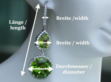 earrings dimensions