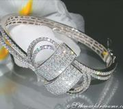 Brillanten / Diamanten Armreif im Top-Design image