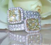 Magnificent Yellow Diamond Ring image