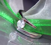 Timeless Diamond Solitaire Ring image