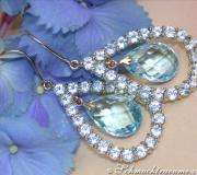 Magnificent Blautopaz Earrings image