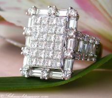 Luxus Diamanten Ring mit Brillanten