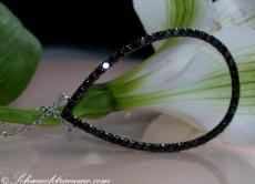 Schwarze Diamanten Collier